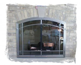 Glass screen doors archives northshore fireplace arch glass door 3 planetlyrics Image collections